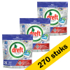 Dreft Aanbieding: 3x Dreft All-in-One Platinum Regular vaatwastabletten (90 stuks)  SDR00336