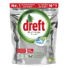 Dreft All-in-One Original vaatwastabletten Platinum (40 stuks)