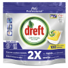 Dreft All-in-One vaatwastabletten Lemon (100 stuks)