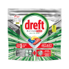 Dreft all-in-one Platinum Citroen vaatwastabletten (8 stuks)