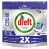 Dreft all-in-one Regular vaatwastabletten (100 stuks)