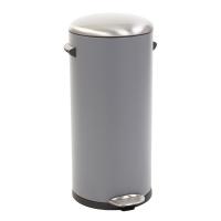 Eko Kickcan 33 Liter Rood.Eko Belle Deluxe Pedaalemmer 30 Liter Grijs