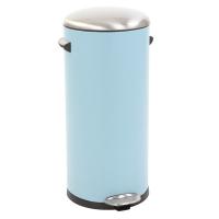 Eko Kickcan 33 Liter Rood.Eko Belle Deluxe Pedaalemmer 30 Liter Lichtblauw