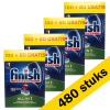 Finish Aanbieding: 4x Finish All-in-1 vaatwastabletten (120 stuks)  SFI00052