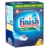 Finish Half jaar pak All-in-1 Max Lemon vaatwastabletten (200 stuks)  SFI00033