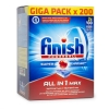 Finish Halfjaarpak All-in-1 Max Regular vaatwastabletten (200 stuks)  SFI00024