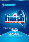 Finish Powerball Classic regular vaatwastabletten (110 stuks)  SFI00032